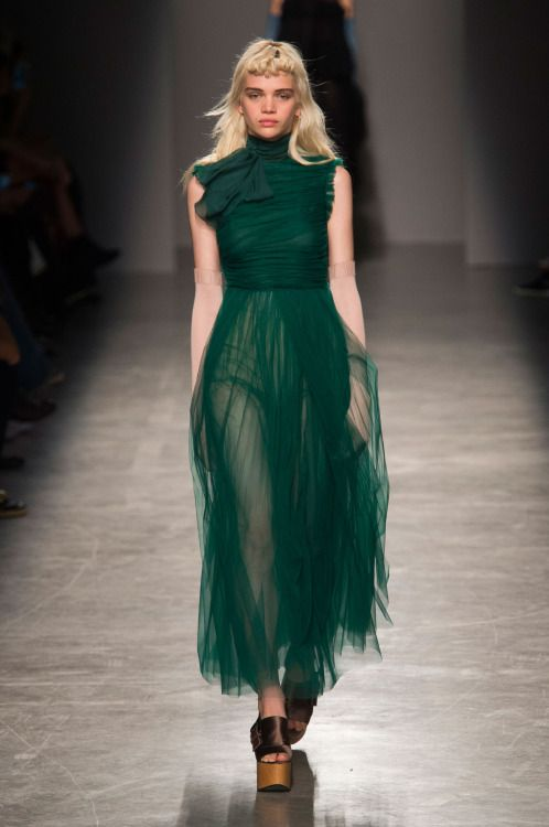 Rochas   Paris Fashion Week   Spring 2017 Model: Stella Lucia