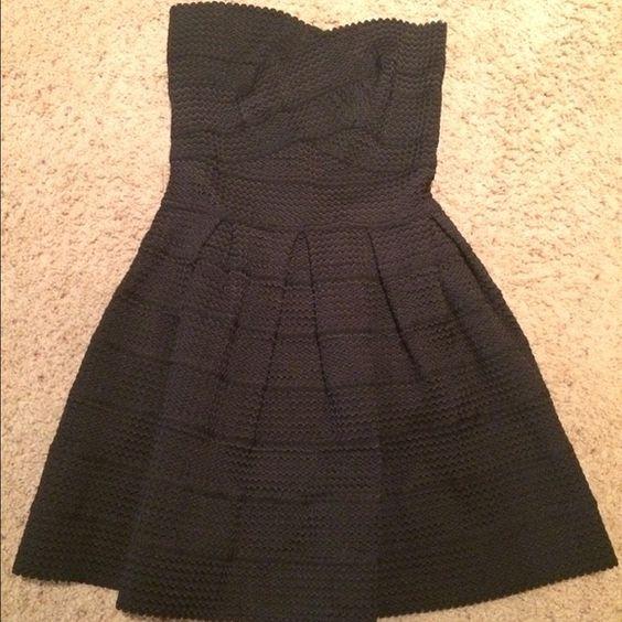 Black strapless dress Bandage strapless black dress, size small. Dresses Mini