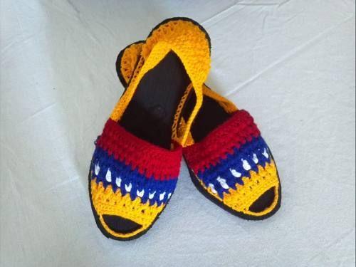 Costumbres , Alpargatas Artesanales. calzado tipico venezolano
