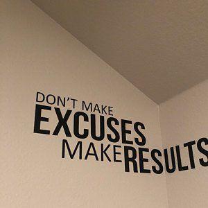 Gym Design Ideas Gym Wall Vinyl Decal Basement Gym Ideas | Etsy