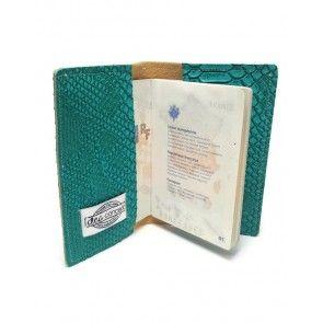 Etui passeport vegan Dragon de Komodo