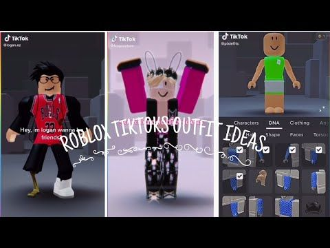 Roblox Tiktoks Outfit Ideas 6 Youtube Roblox Indie Outfits Torsas