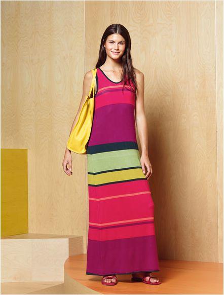 Bu Gap elbise plajdada şehirde de giyilir! / This Gap dress will take you from the beach to the city.