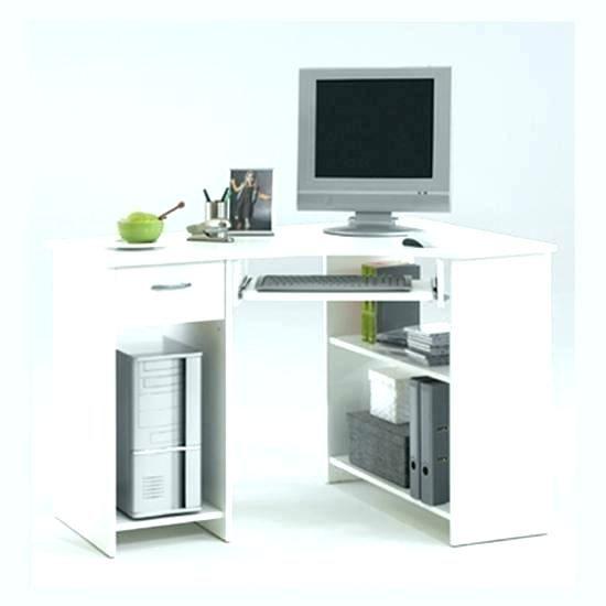 Small Corner Desk With Storage White Computer Desk Corner
