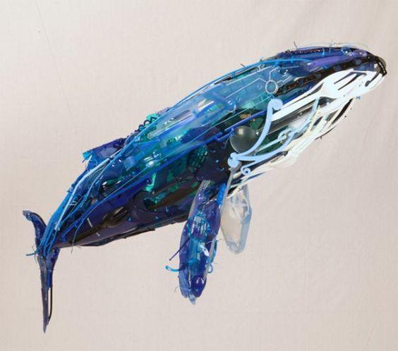 Philosophy inspires artist Sayaka Ganz's reclaimed art « Planet Custodian