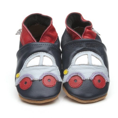 "Weiche Leder Baby-Schuhe ""Auto"" 12-18 monate - http://on-line-kaufen.de/olea-london/weiche-leder-baby-schuhe-auto-12-18-monate"