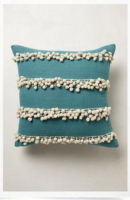 anthropologie tassel pillow
