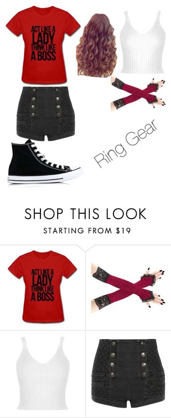 """Untitled #107"" by andovermollie ❤ liked on Polyvore featuring WearAll, Pierre Balmain and Converse"