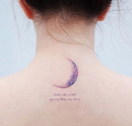 Magical Moon Tattoo Designs You Don T Want To Miss Sooshell Girly Tattoos Moon Tattoo Designs Neck Tattoo