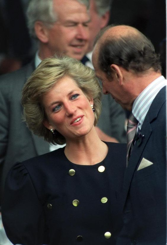 Princess Diana & The Duke of Kent