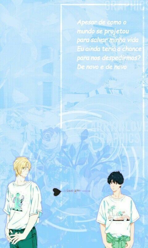 Wallpaper Banana Fish Blues Quotes Ash E Eiji By Pan Chan Wallpaper Perfis