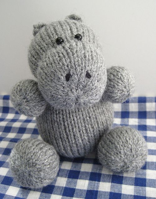 When I get better at knitting, I want to make toys like these!