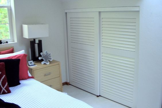 Pinterest the world s catalog of ideas - Plantation louvered closet doors ...