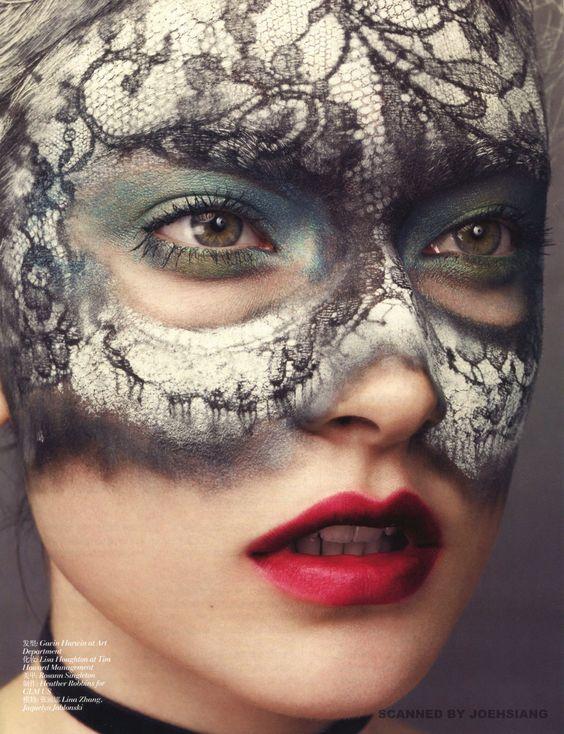Skin Spell by David Slijper for Vogue China April 2013