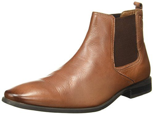Hush Puppies Men S New Fred Chelsea Tan Leather Boots 7 Uk India 41 Eu 8043966 Tan Leather Boots Leather Boots Boots