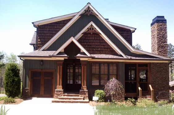 Rustic house plan with porches stone and photos house for Rustic house plans with porches