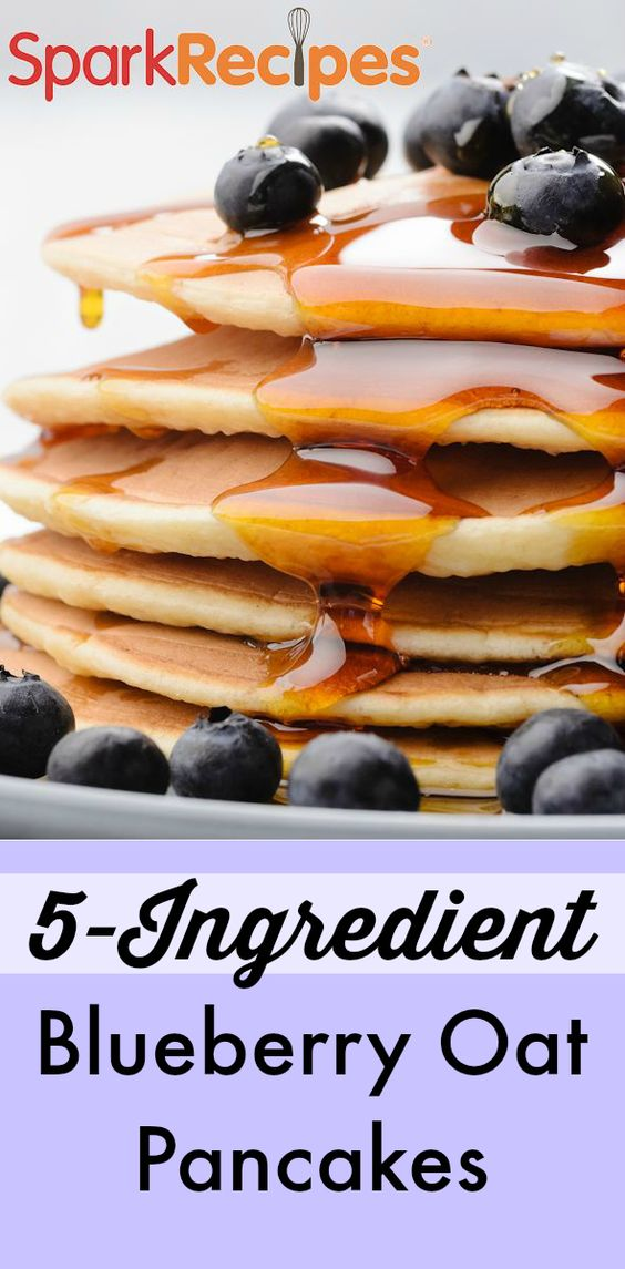 Quick and easy healthy and clean pancakes that taste totally indulgent! Top with your favorite fruit,  spreads, nuts or nut butters for extra carbs and fat!