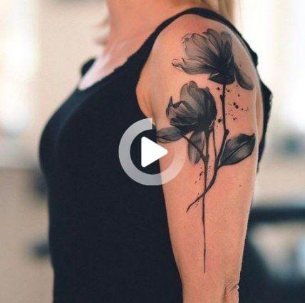 48++ Tatouage aquarelle noir et blanc ideas in 2021