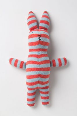 so cute: Wool Bunny, Stufftoys Crafts, Striped Bunny, Confectionary Wool, Anthropologie Wool, Baby Toys, Stuffed Toy, Animal Babygifts, Bunny Anthropologie