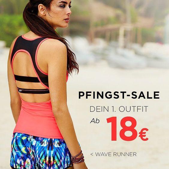 Wir machen Freitag den 13. zum Glückstag! Mit unserem Pfingst-Sale shoppst Du Dein erstes Outfit ab 18! Na wenn das mal kein Glück ist. #sale #workoutclothes Link zum Shop in der Bio