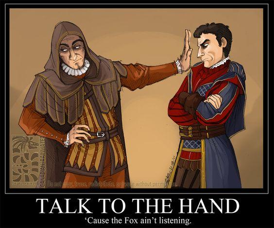 Talk To The Hand by Quarter-Virus.deviantart.com on @DeviantArt