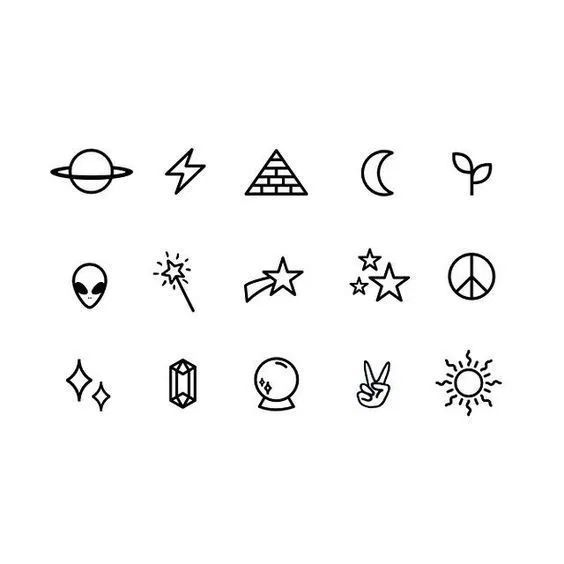 55 Cool Easy Things To Draw In Your Sketchbook Tattoo Ideas Tumblr Small Henna Tattoos Stick Tattoo