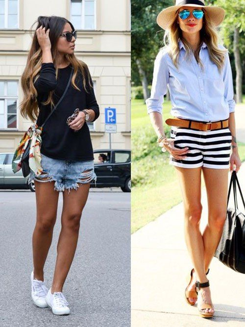 summer #fashion #styling #white #shorts 5 Ways To Dress Up This ...