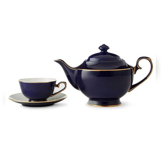 Tea sets sapphire and teas on pinterest - Teavana teapot set ...