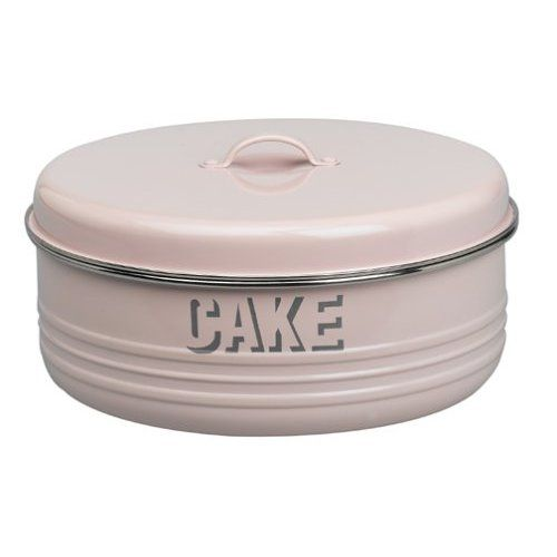 Amazon Com Typhoon Vintage Kitchen Cake Tin Pink Food Tins Kitchen Dining Vintage Cake Vintage Tins Cake Tins