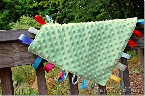 How to Make a Tag Blankie…
