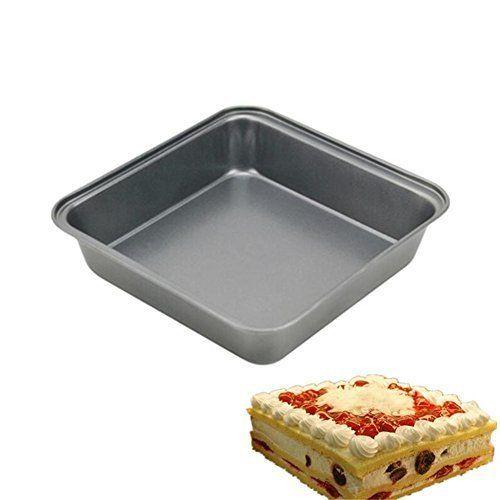 Iron Square Cake Bread Mold Cake Pan Sessert Mould Baking Tray