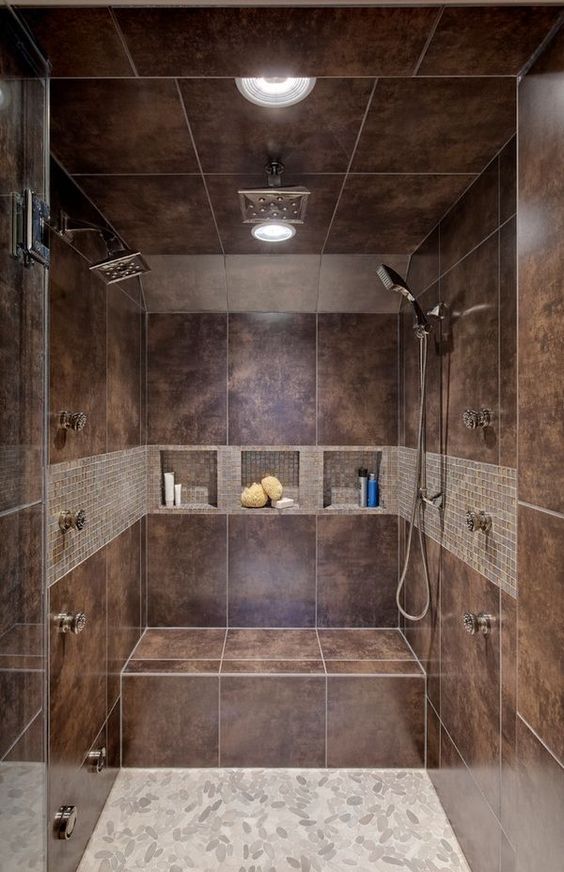 Walk In Shower Tile Design Ideas contemporary Bathroom Design Ideas Walk In Shower Organizer Caddy Tiles Shelves