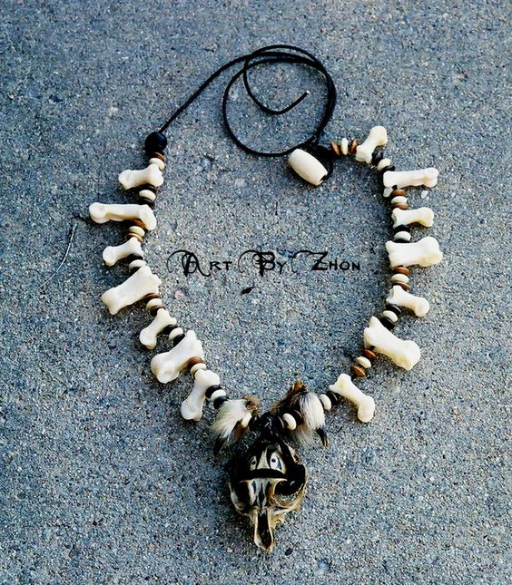 Tribal Beast Necklace by Zhon on DeviantArt