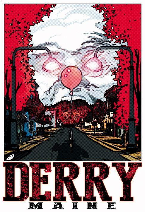 "Derry Maine 13""x19"" Poster"