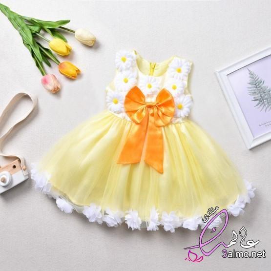 فساتين اطفال بنات 2020 صيفي أجمل ملابس اطفال بناتي للعيد 2020 موضه ملابس الاطفال بناتي Flower Girl Dresses Dresses Fashion