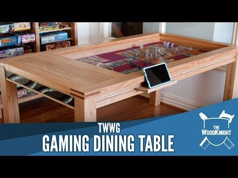 Gaming Dining Table Youtube Diy Dining Table Concrete Dining