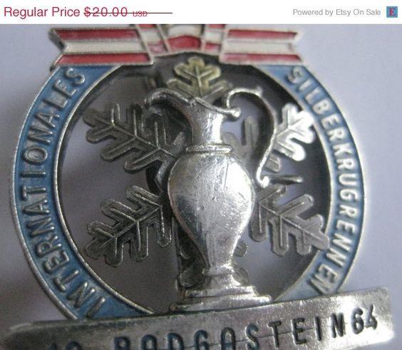20% Off Sale Vintage 1964 Winter Olympics by OnTheRoadVintage