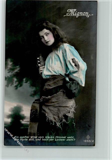 handcoloriert - Fotoverlag Serie 1088-2 AK