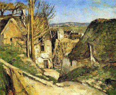 A Casa do Enforcado - Cézanne  Primeira Exposição dos Impressionistas  (1874).