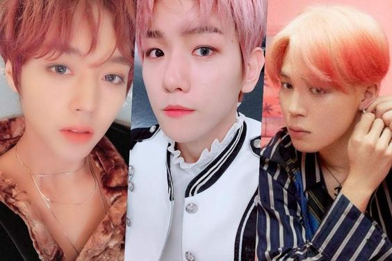 Male Idols Who Remind Us Of Beautiful Cherry Blossoms With Their Pink Hair