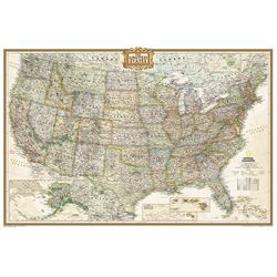 United States Old World Political Map