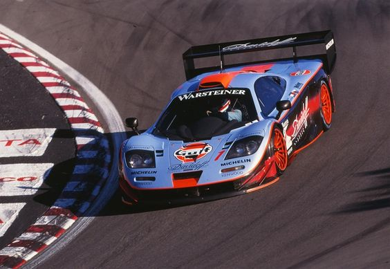 Gulf I threw in the 1997 McLaren F1 GTR. There's no official estimate, but the McLaren is going to get some major cabbage.