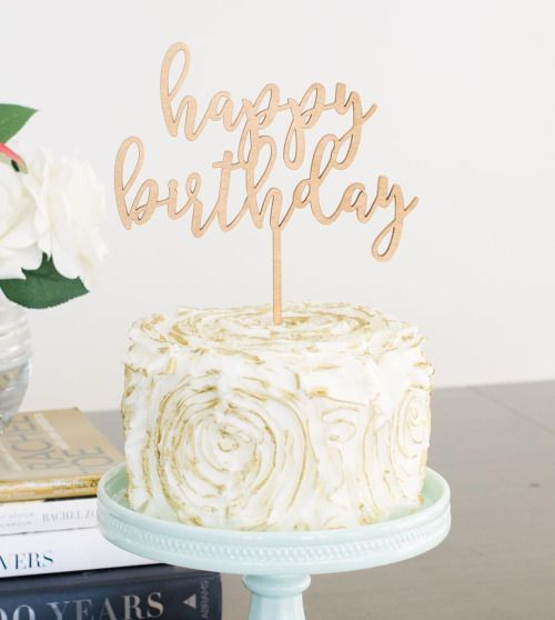 The  Best Happy Birthday Cake Topper Ideas On Pinterest - Birthday cake figurines