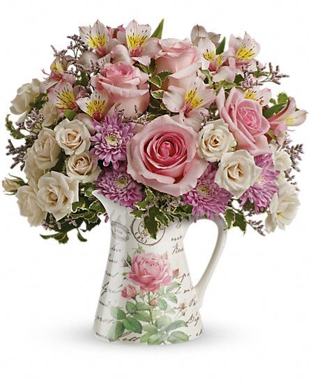 Teleflora's Fill My Heart Bouquet Flowers: