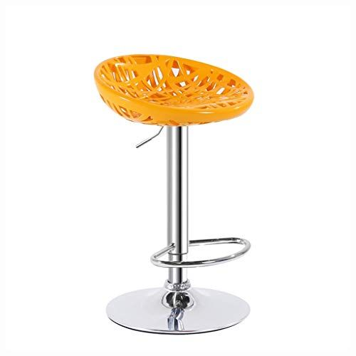 Barstools Bar Stool With Footrest Height Adjustable Bar Chair Plastic Breakfast Kitchen Pub Chairs 0509a Color Yellow Size 41cm In 2019 Pub Chairs Bar Chairs Bar Stools