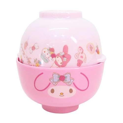 Brand New My Melody Plastic Small Rice Bowl Pink SANRIO Kawaii Free Shipping