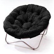 Kids room - Oversized Oval Chair, Black