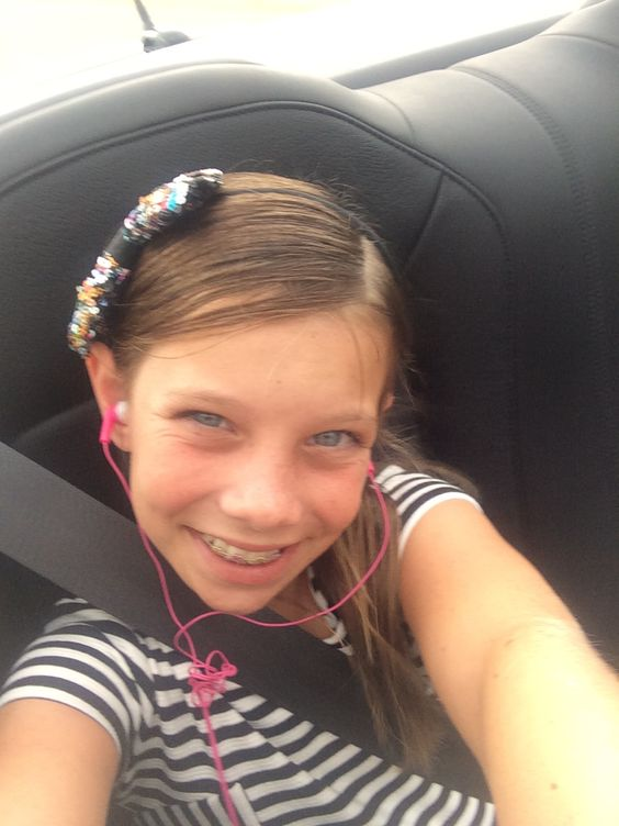 Me in the car