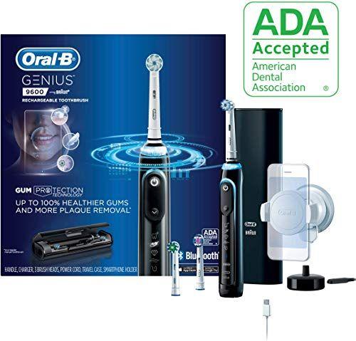 New Oral B 9600 Electric Toothbrush 3 Brush Heads Black Powered Braun Online Shopping ในป 2020 ม ร ปภาพ