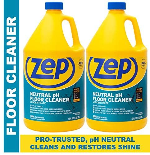 Zep Neutral Ph Floor Cleaner Concentrate 128 Ounces 2 Pack
